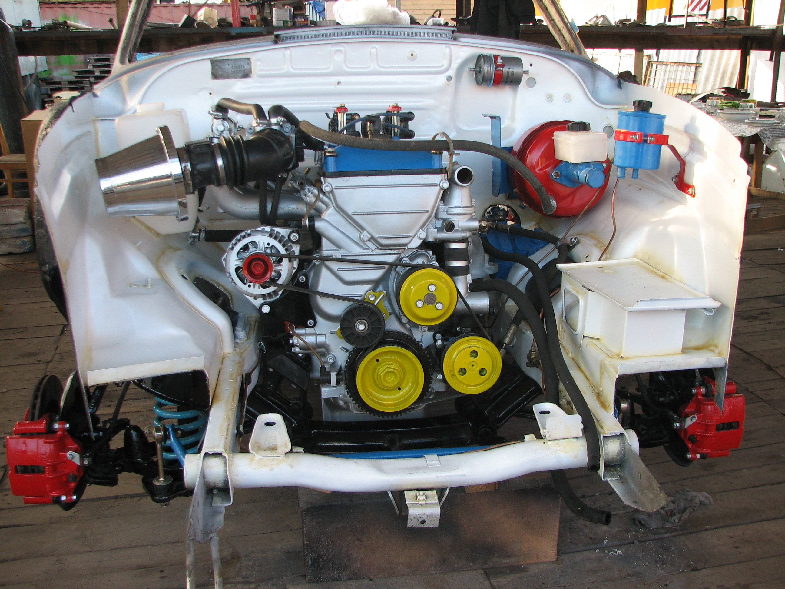 Тюнинг двигателя газ 21 своими руками